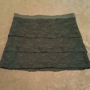 Candie's Three Tier Lace Skirt